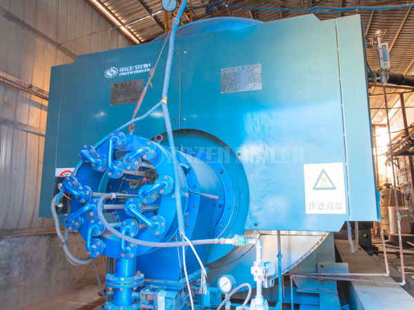 causes of water attack in the economizer and condenser of gas-fired boiler