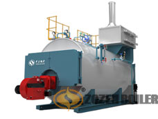 WNS series gas-fired(oil-fired) hot water boiler
