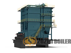 DHL series coal-fired hot water boiler