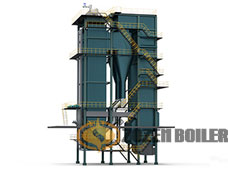 DHX series CFB(circulating fluidized bed) boiler