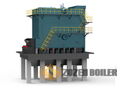 SHL double drum bulk chain grate boiler