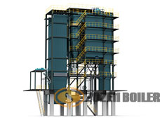 SHX series CFB(circulating fluidized bed) boiler