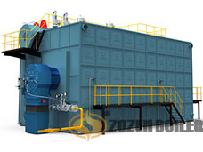 SZS series gas-fired(oil-fired) steam boiler
